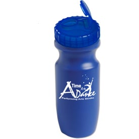 Wide Mouth Bike Bottles Branded with Your Logo
