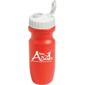 Wide Mouth Bike Bottles with Your Slogan