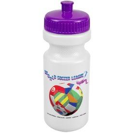 Bike Bottle (Full Color, 21 Oz.)
