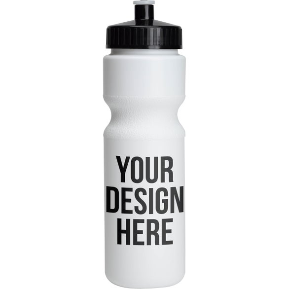 White Bike Bottle