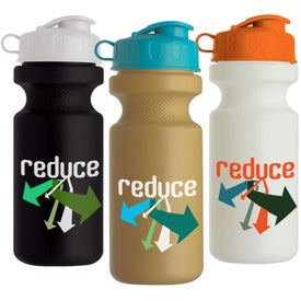 Bike Bottle with Flip Top for Customization