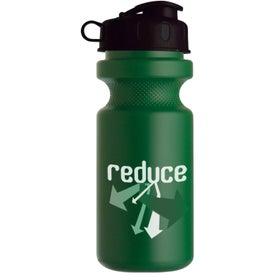 Bike Bottle with Flip Top Giveaways