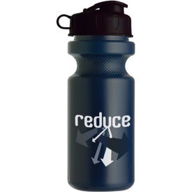 Bike Bottle with Flip Top Giveaways