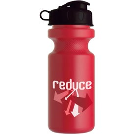 Bike Bottle with Flip Top for Marketing