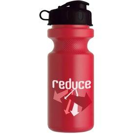Bike Bottle with Flip Top for Marketing