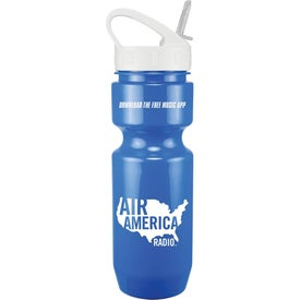 Bike Bottles with Sport Sip Lid (22 Oz.)