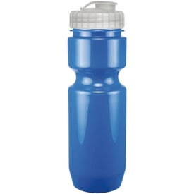 Opaque Bike Bottle With Flip Top Lid (22 Oz.)