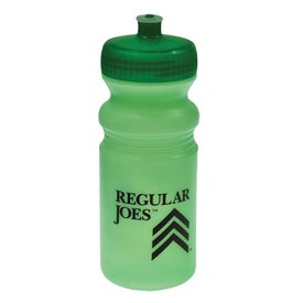Custom Biodegradable Tinted Sport Bottle