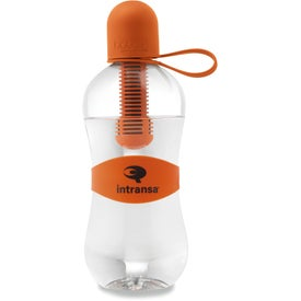 Bobble Filtered Water Bottle with Tether Cap for Promotion