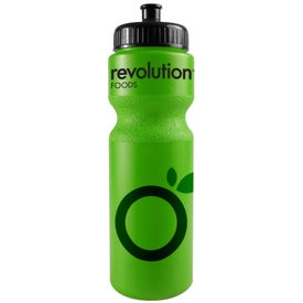 Company Bike Bottle with Push Pull Cap