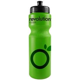 Company Bike Bottle with Push Pull Cap