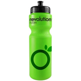 Bike Bottle with Push Pull Cap Printed with Your Logo