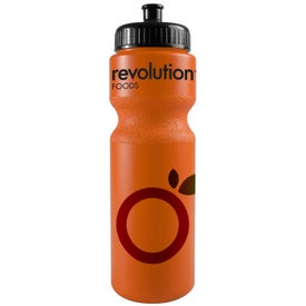 Bike Bottle with Push Pull Cap for Customization