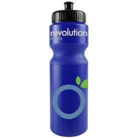 Bike Bottle with Push Pull Cap for Advertising