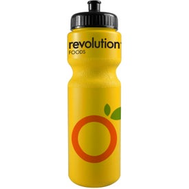 Bike Bottle with Push Pull Cap Branded with Your Logo