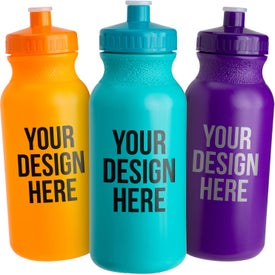 Colored Bike Bottle (20 Oz.)