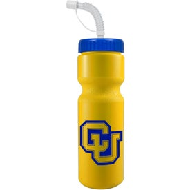 Bike Bottle with Straw for your School