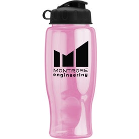 Promotional Poly-Pure Bottle with Flip Lid