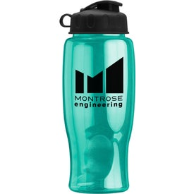 Poly-Pure Bottle with Flip Lid for Marketing