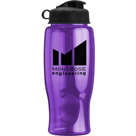 Poly-Pure Bottle with Flip Lid for your School