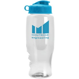 Poly-Pure Bottle with Flip Lid Giveaways