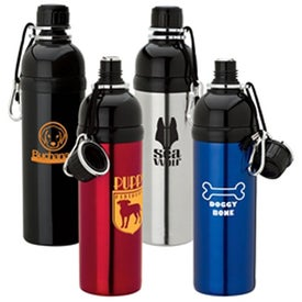 Bottle For Pets-Blk (24 Oz.)