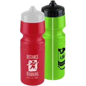 Premium Bottle with Mighty Shot Valve Lid Branded with Your Logo