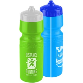 Imprinted Premium Bottle with Mighty Shot Valve Lid