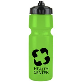 Premium Bottle with Mighty Shot Valve Lid (24 Oz.)
