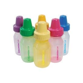 Personalized BPA Free EvenFlo Baby Bottles
