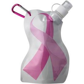 Branded Breast Cancer Awareness Flexi Bottle