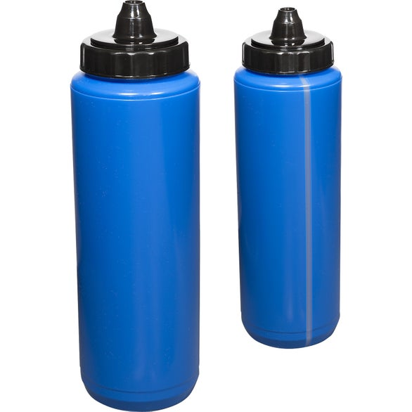 Reflex Blue Budget Squeezable Water Bottle