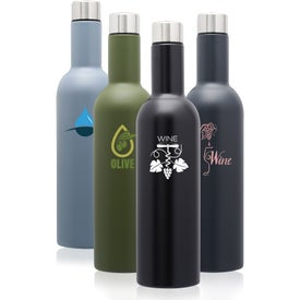 Cabernet Stainless Steel Water Bottle (25 Oz.)
