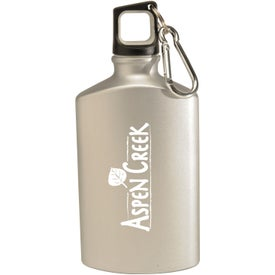 Monogrammed Canteen Aluminum Bottle