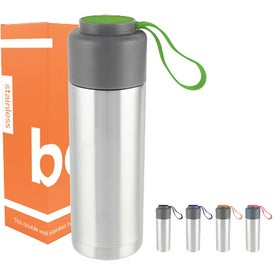 Capsule Double Wall Stainless Bottle (18 Oz.)