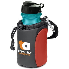 Carabiner Tote with Sport Bottle Set