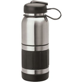 Personalized Casoria Steel Water Bottle