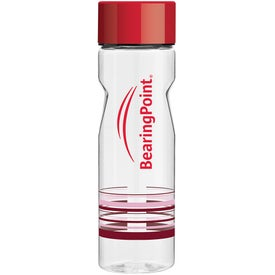 Imprinted Catalina Column Water Bottle