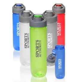 Clear Plastic Sports Bottle (28 Oz.)