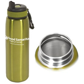Advertising Click 'N Sip Stainless Bottle