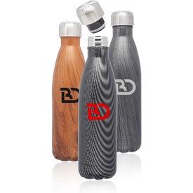 Cola Shaped Water Bottle (17 Oz.)