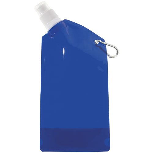 Translucent Blue Collapsible Bottle