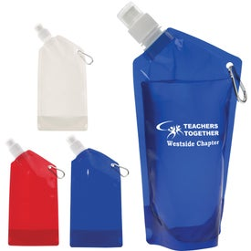 Imprinted Collapsible Bottle