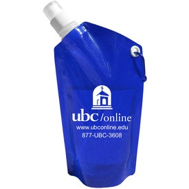 Collapsible Dromedary Water Bottle (28 Oz.)