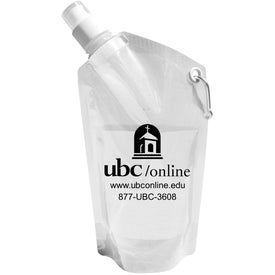 Collapsible Dromedary Water Bottle Imprinted with Your Logo