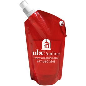 Collapsible Dromedary Water Bottle with Your Logo