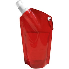 Imprinted Collapsible Dromedary Water Bottle