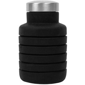 Collapsible Silicone Water Bottle (17 Oz.)
