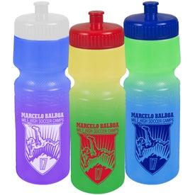 Monogrammed Cool Color Change Bottles