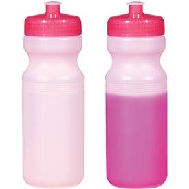 Custom Color Changing Bottle